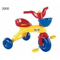Triciclo Junior Rider Rondi Con Canasto