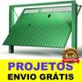 Projeto Portão Basculante De Uma Folha Dobrável Serralheria