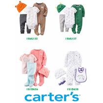 Set De 4 Piezas Carters Importados 100% Originales