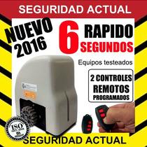 Porton Corredizo Automatico Motor Kit Ppa Rapido 6 Seg Speed