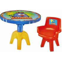 Mesa Com Cadeira Galinha Pintadinha Lider Brinquedos