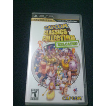Capcom Classics Collection Reloaded Psp Excelente Condicion