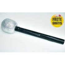 Microfone Plastico Silvio Santos Festa Frete Gratis