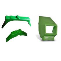 Kit Carenagem Verde Completa Caloi Xr