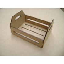 15 Mini Caixote Mdf 3 Mm Laser 13 X 10 X 7 Cm Lembrancinha