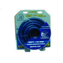 Kit De Cable Calibre 0 Linea Pro Bullz Audio Bpp0.25