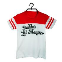 Fantasia Camiseta Arlequina Customizada 100% Algodão