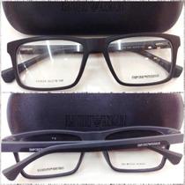 Ea3034 Masculina Armação Óculos Receituário Grau