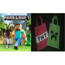 Bolsa,cotillon Infantiles Pop De Minecraft, Mickey Y Minnie