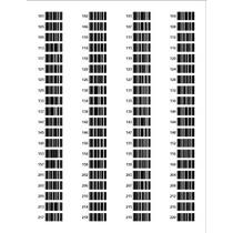 Etiquetas Para Impresoras Inkjet Y Laser Codigo De Barra