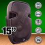 Bafle Potenciado Gbr Usb-sd-bluetooth-300w Rms Karaoke