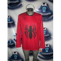 Tremendo Jersey Puma Portero Spiderman Marvel Portero 2016