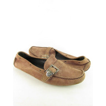 Sapato Prada Original Masculino Mocassim Camurça