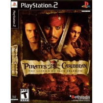Piratas Do Caribe A Lenda De Jack Spar Ps2 Patch Frete Unico