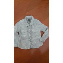 Zara Kids Hermosa Camisa De Niña Talla 2-3 1 Sola Puest