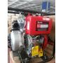 Moto Bomba 9hp En Alta Con Arranque Automatico Diesel