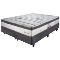 Colchon Y Sommier Bed Time Nuevo Alchemy Sealy 180x200