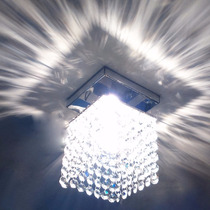 Lustres Palfon Pendente Teto Cristal Importado 11x11 Cubo