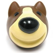 Bola Vinil Bull Terrier 2 Manchas Brinquedo Cães
