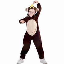 Fantasia Cosplay Infantil Macaco Tamanho M