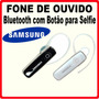 Fone De Ouvido Sem Fio Samsung Univesal Função Tirar Selfie