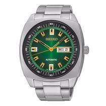 Relógio Seiko Masculino Automático Snkm97 Verde