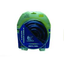 Kit De Cable Calibre 4 Linea Pro Bullz Audio Bsp4.18