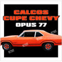 Calco Franja Cupe Chevy Opus 77 - Calcomania Ploteoya!