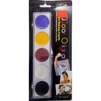 Kit Maquillaje Profesional Mehron Varios Colores Para Payaso