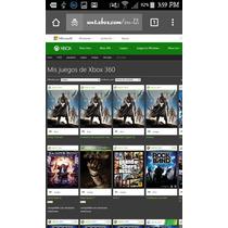 Cuentas Con Juegos Xbox 360