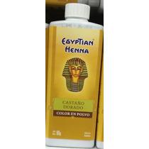 Egyptian Henna Castaño Dorado X 90g Color En Polvo