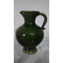 Jarra Jarro Vaso Porcelana Verde Lindo Louça Antigo 3 Litros