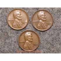 Set De Monedas 1 Un Centavo Lincoln 1928 Pds Mint Espiga