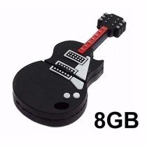 Pen Drive Guitarra Violão 8gb Usb 2.0