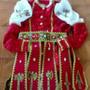 Trajes Kariosha,santo,montadoes,coronacion,osha,ifa,