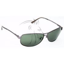 Óculos Masculino Design Italiano Lentes Verdes G15 Uv400