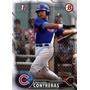 Bv Wilson Contreras Rc Chicago Cubs Bowman Prospect 2016