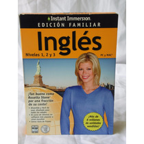 Instant Immersion Aprenda Ingles Es Divertido Y Facil D Usar