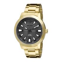 Relógio Masculino Mormaii Dourado Esportivo Mo2035db/4p