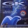 Encordado Gk Para Bajo 040 De 5 Cuerdas 2070-5 Light Calidad