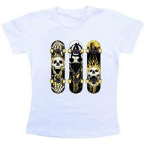 Camiseta Baby Look Feminina Moda Roupa Blusa - B125