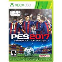 Pro Evolution Soccer 2017 Pes Para Xbox 360 En Start Games