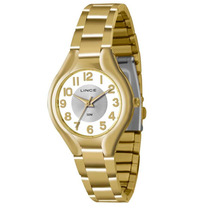 Relógio Lince Feminino (orient)lrgl007l S2kx - Dourado