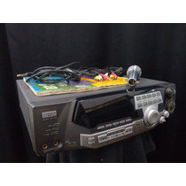 Aparelho Videokê Raf Eletronics Vmp3700 Vmp 3700 Microfone
