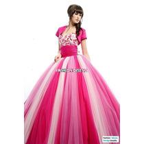 Elegantes Vestidos Quinceaños Quinceañera 15 Años