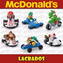 Miniaturas Mário Kart 8 Coleção Completa Mc Donalds 2015