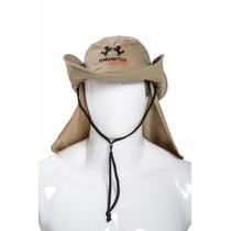 Chapéu Com Proteção Uv 50+ Caqui