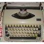 Vintage Máquina D Escribir Portátil Marca Adler, Modlo Tippa