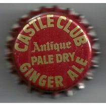 Corcholata Ficha Ginger Ale Castle Club ( E U A )
