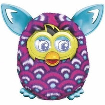 Furby Boom Sunny Hasbro - Rosa Listrado - Promoção